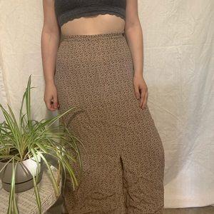 Women's vintage maxi skirt